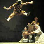 Arlecchino, Ferruccio Soleri, 1977-8, foto L. Ciminaghi Piccolo Teatro di Milano