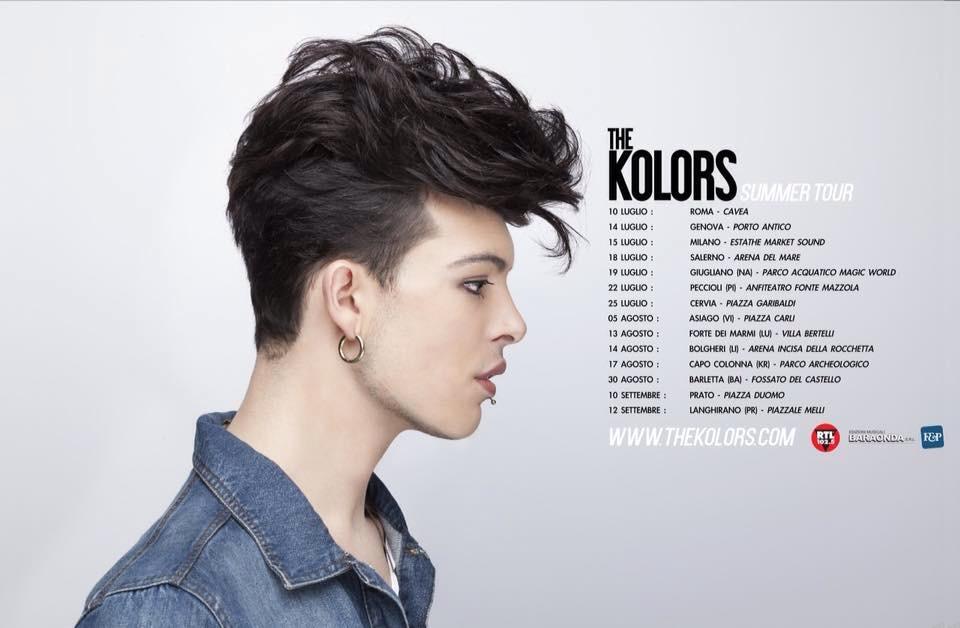 The Kolors, 500 biglietti in più in vendita dal 1 agosto