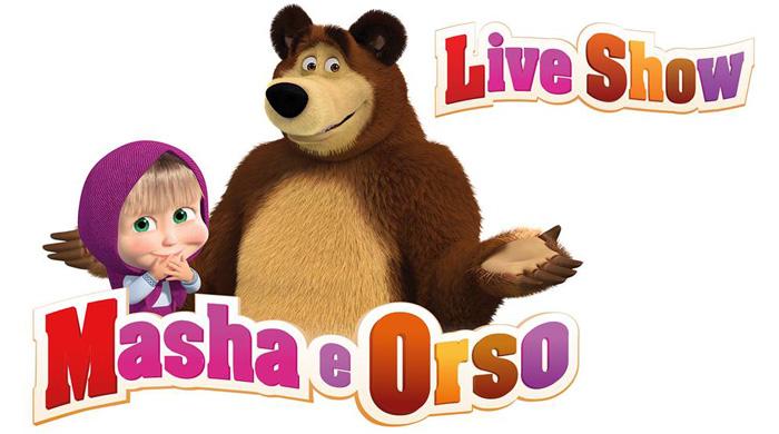 Masha e Orso Live Show, lo spettacolo per la famiglia
