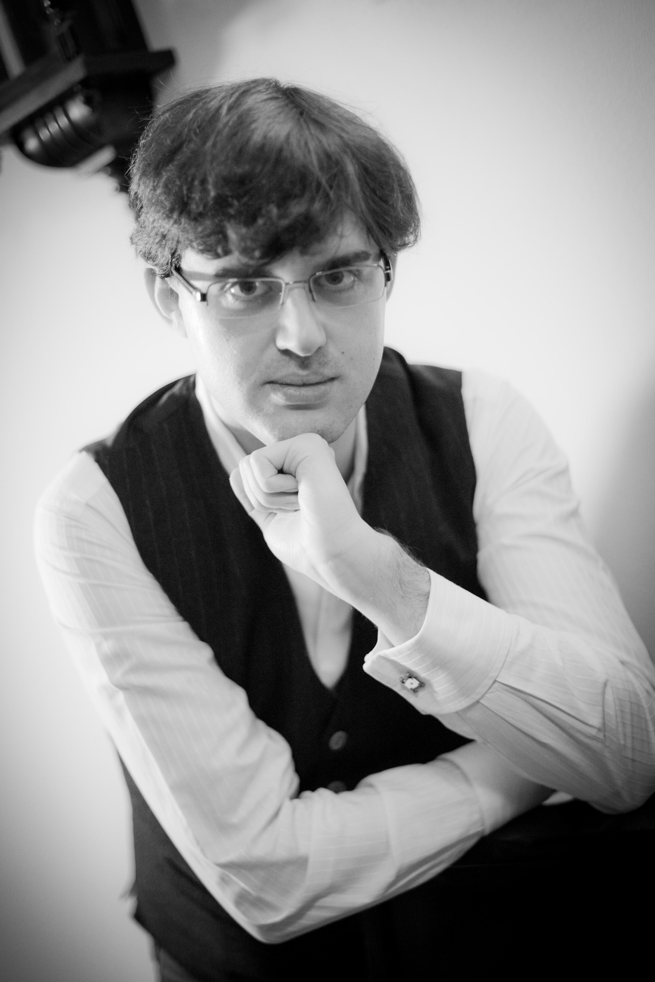 Luca Fialdini al piano