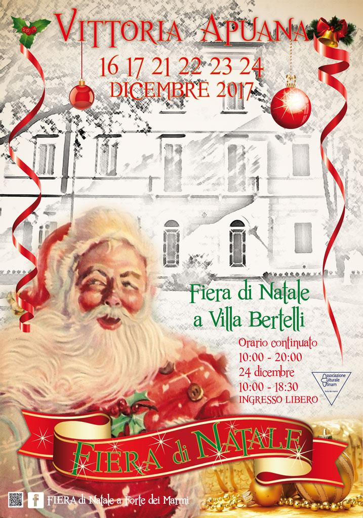 Fiera di Natale a Forte dei Marmi e a Villa Bertelli