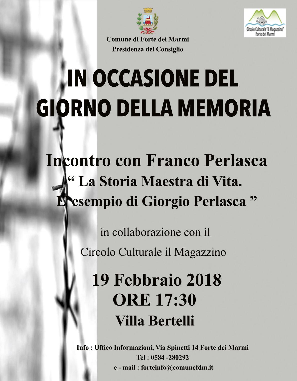 Giorno della Memoria: chiusura delle celebrazioni