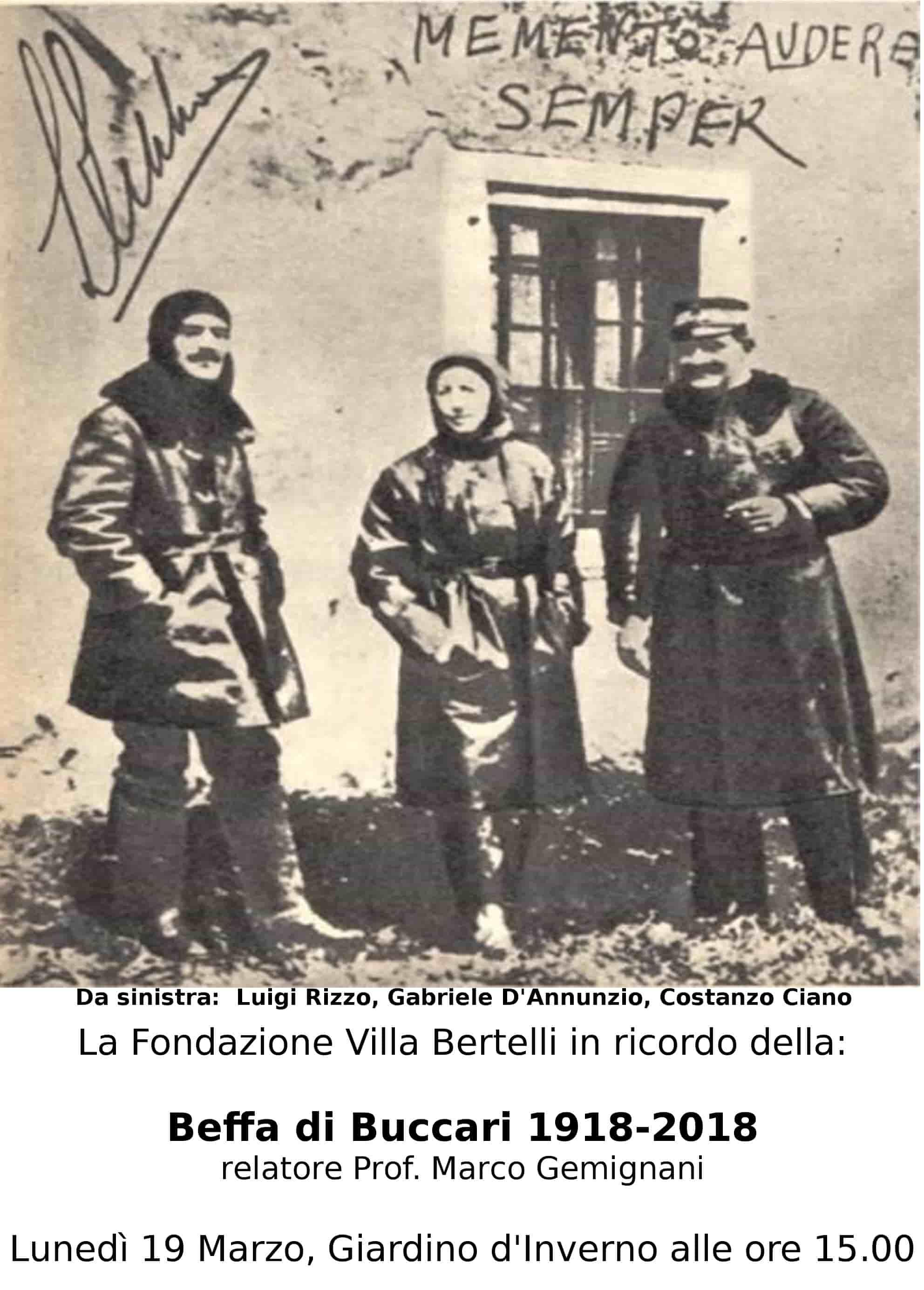 La Beffa di Buccari 1918-2018