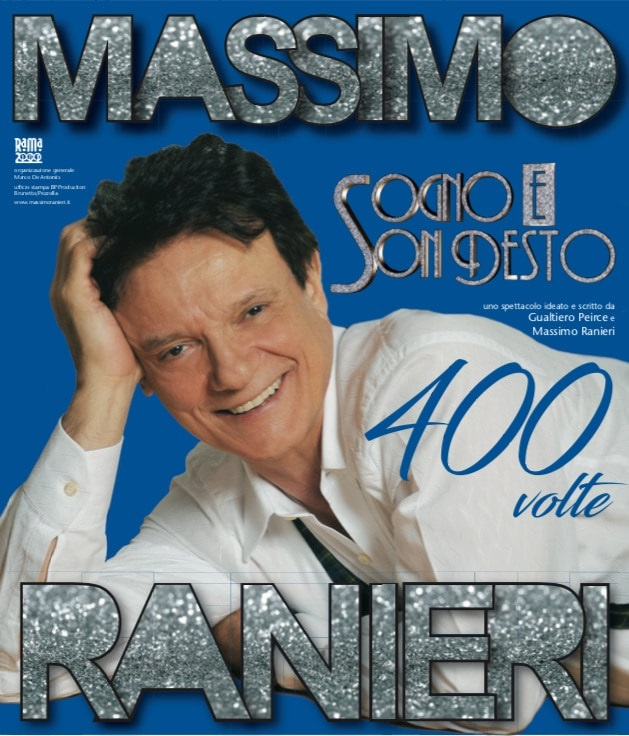 """Massimo Ranieri in """"Sogno e son desto 400 volte"""""""