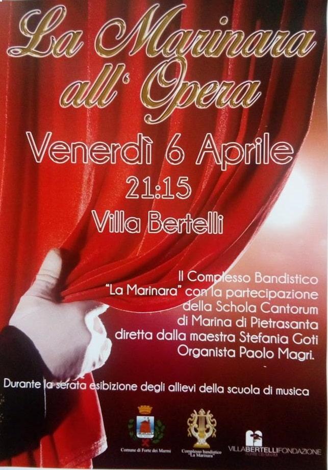 """La Marinara all'Opera"" – Concerto di primavera della banda La Marinara con la Schola Cantorum"