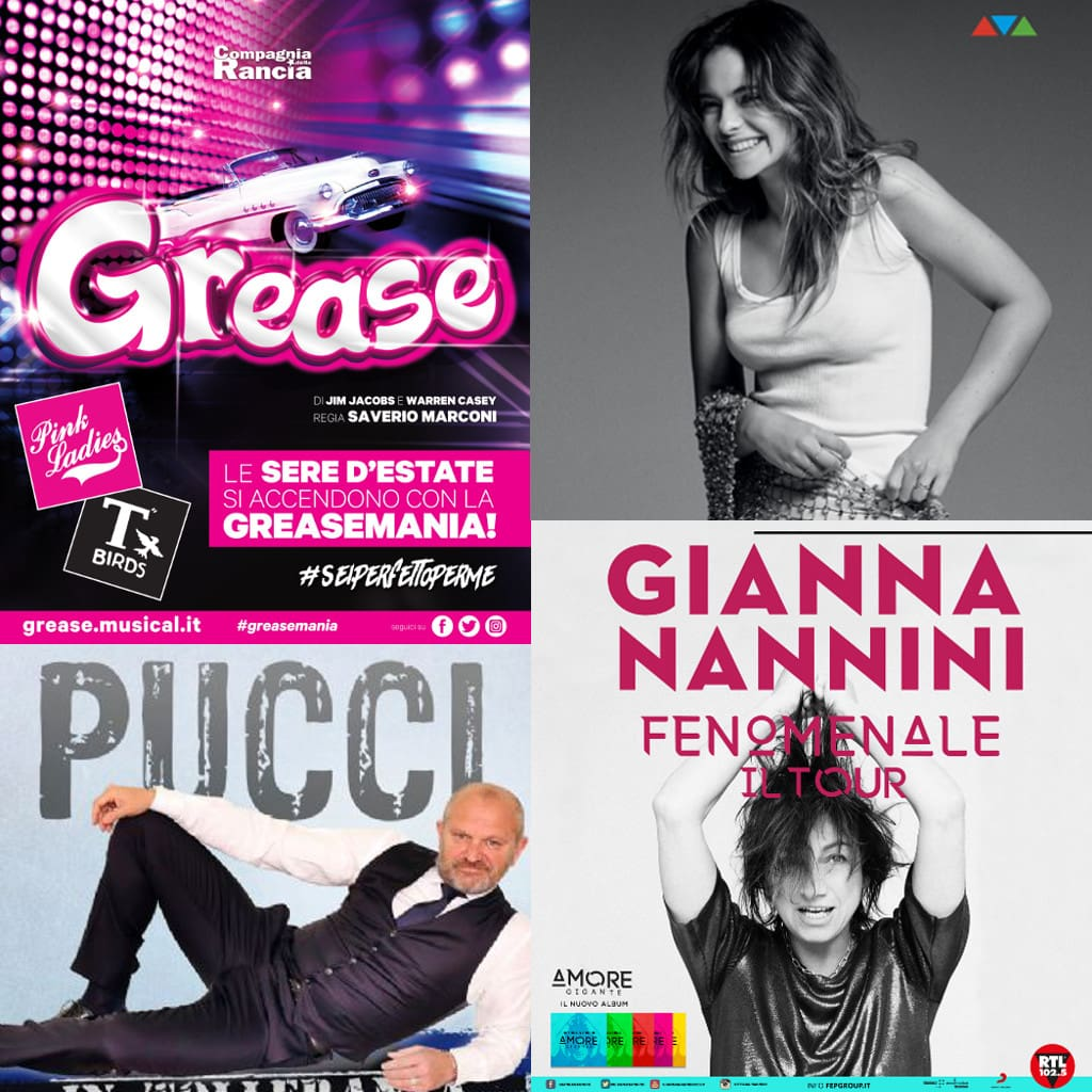 Gianna Nannini, Francesca Michielin e Grease, new entry nel calendario estivo di Villa Bertelli.