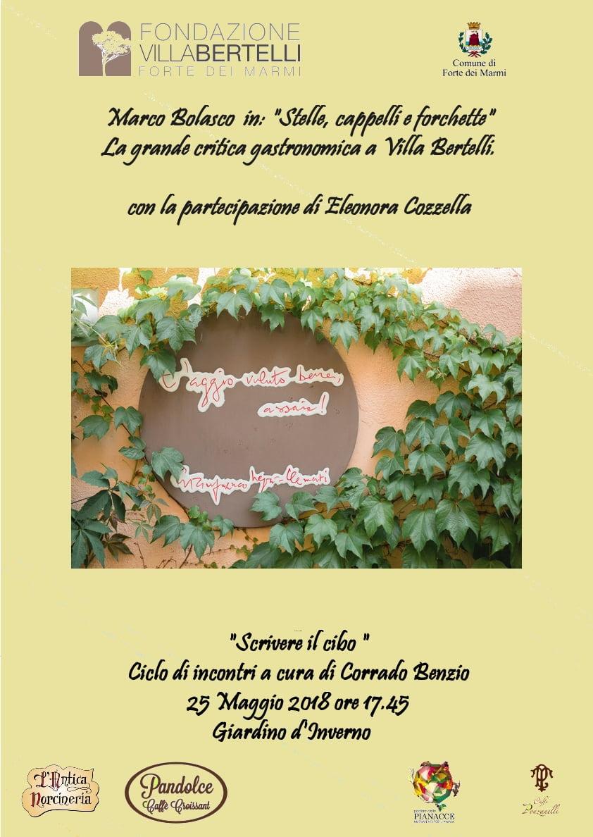 Stelle, cappelli e forchette: la grande critica gastronomica si svela a Villa Bertelli.