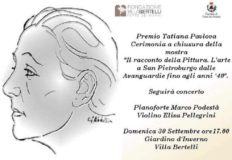 Villa Bertelli conquista il Premio Pavlova