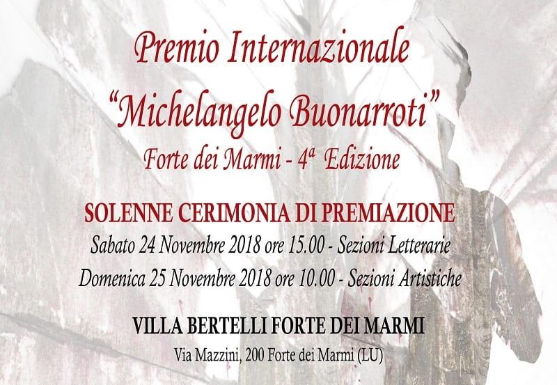 """Premio Internazionale """"Michelangelo Buonarroti"""""""
