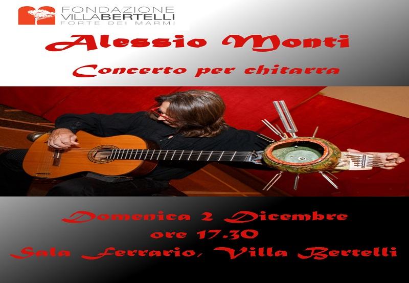 Alessio Monti – concerto per chitarra