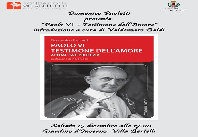 """Conversazione su """"Paolo VI testimone dell'amore"""""""