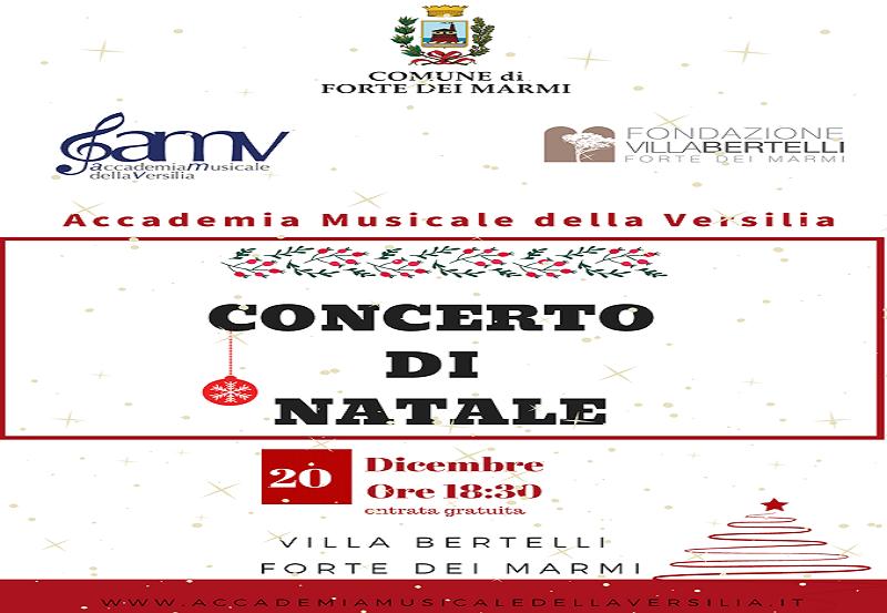 Concerto di Natale – Accademia Musicale della Versilia
