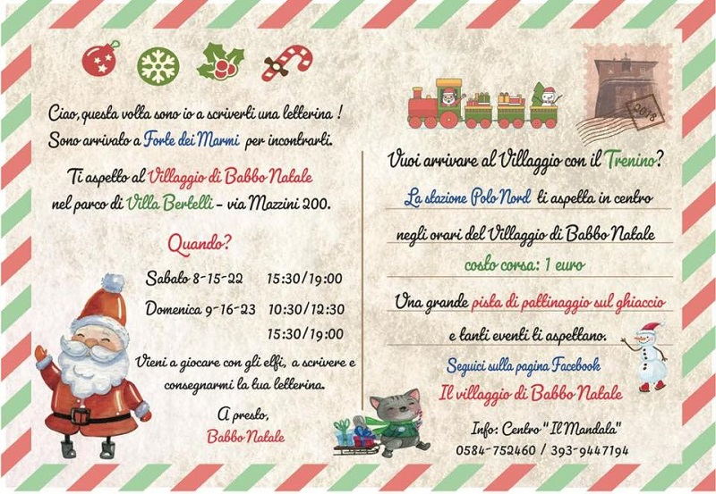 """Villaggio di Babbo Natale"" e ""Forte on Ice"""