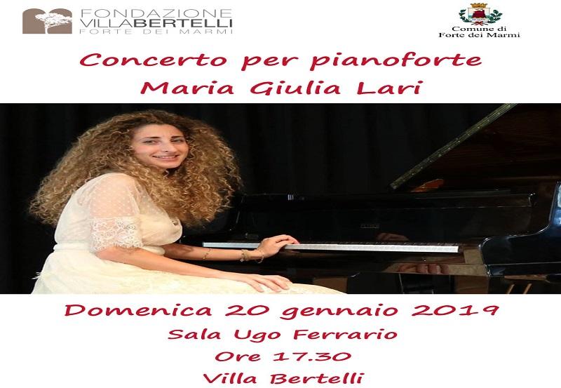 Concerto per pianoforte – Maria Giulia Lari