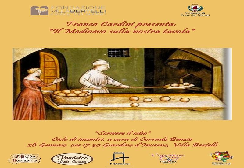 """Il Medioevo sulla nostra tavola – rassegna """"Scrivere il cibo"""""""