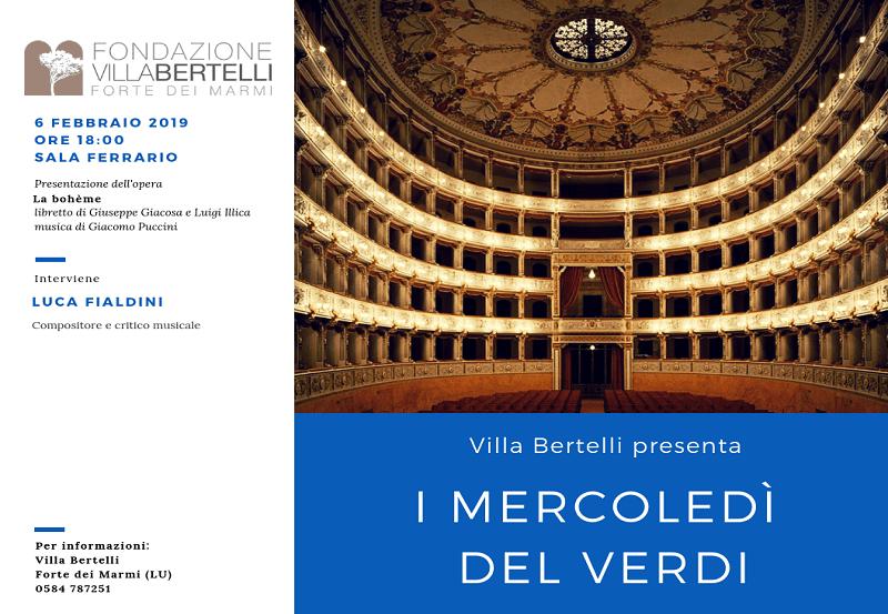 I Mercoledì del Verdi – La Bohème di Giacomo Puccini