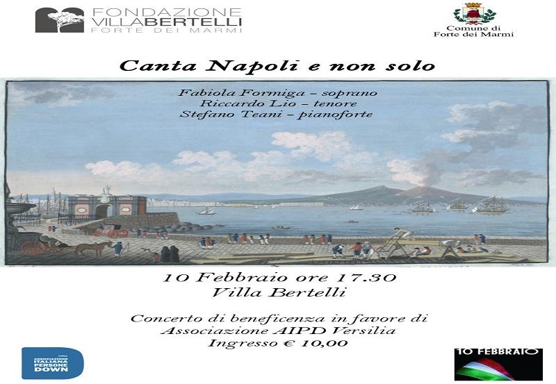 """""""Canta Napoli e non solo"""" – concerto benefico nel Giorno del Ricordo"""