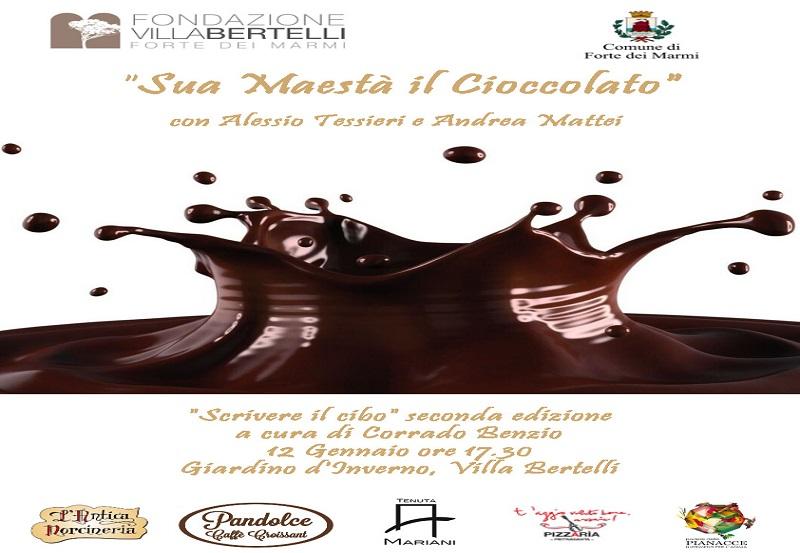Sua Maestà il cioccolato – rassegna Scrivere il cibo