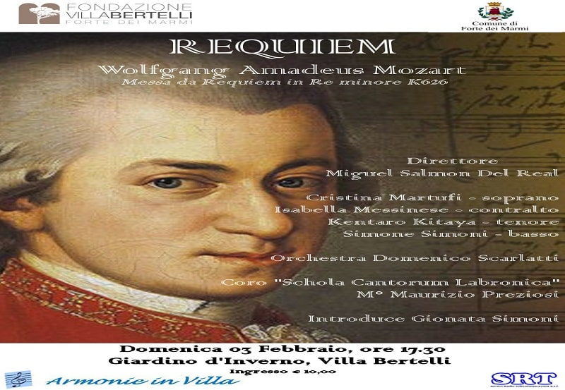 Requiem in Re minore K. 626 – Wolfgang Amadeus Mozart