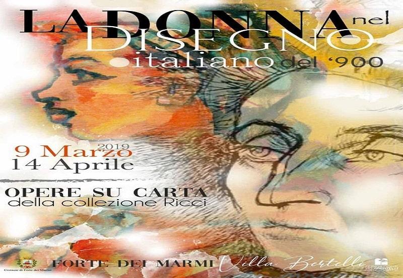 La donna nel disegno italiano del '900