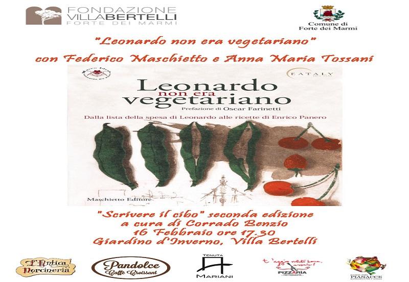 Leonardo non era vegetariano – rassegna Scrivere il cibo