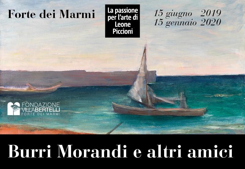 """""""Burri, Morandi e altri amici"""". La passione per l'arte di Leone Piccioni"""