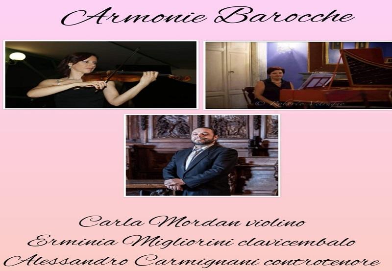 """Armonie barocche – Rassegna musicale """"Primavera in Musica"""""""