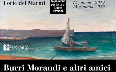 """Trenitalia official carrier della mostra """"Burri Morandi e altri amici"""""""