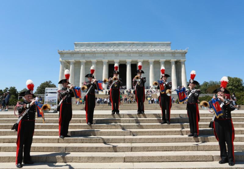Concerto della Banda dell'Arma dei Carabinieri – con la partecipazione del M° Bocelli che canterà l'Inno d'Italia