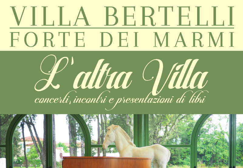 """L'altra Villa ""  un calendario di eventi extra per l'estate"