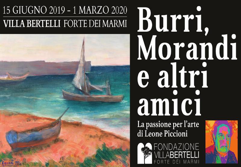 """Mostra """"Burri Morandi e altri amici"""""""