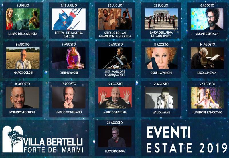 Estate a Villa Bertelli 2019