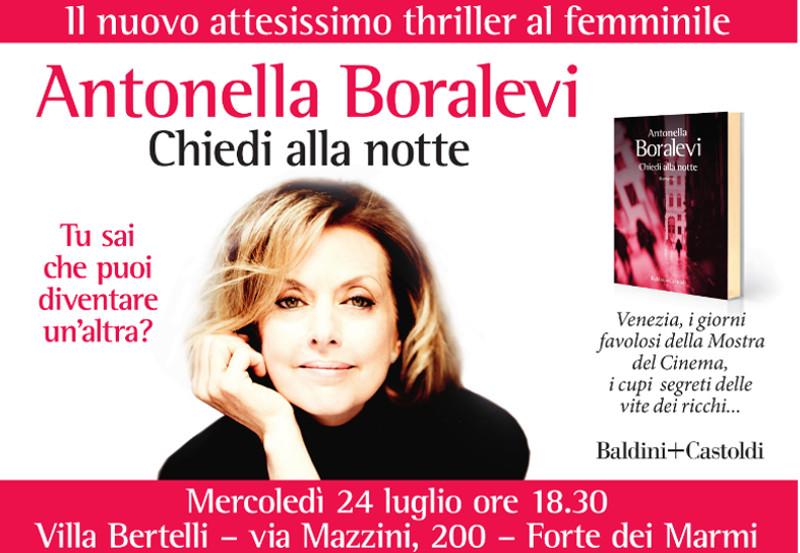 """""""Chiedi alla notte""""  di Antonella Boralevi"""