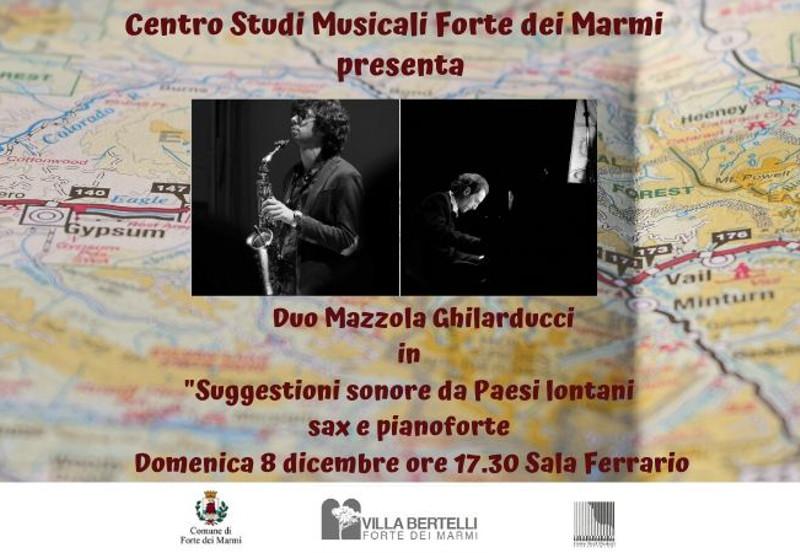 Concerto Centro Studi Musicale Forte dei Marmi, Duo Ghilarducci-Mazzola