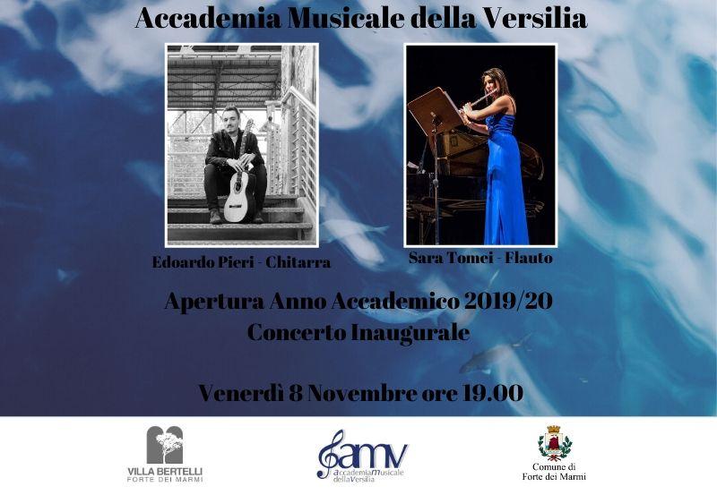 Concerto Inaugurale A.A. 2019/20 dell'Accademia Musicale della Versilia