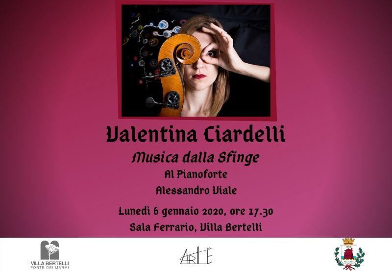 """""""Musica dalla Sfinge"""" Recital con Valentina Ciardelli"""