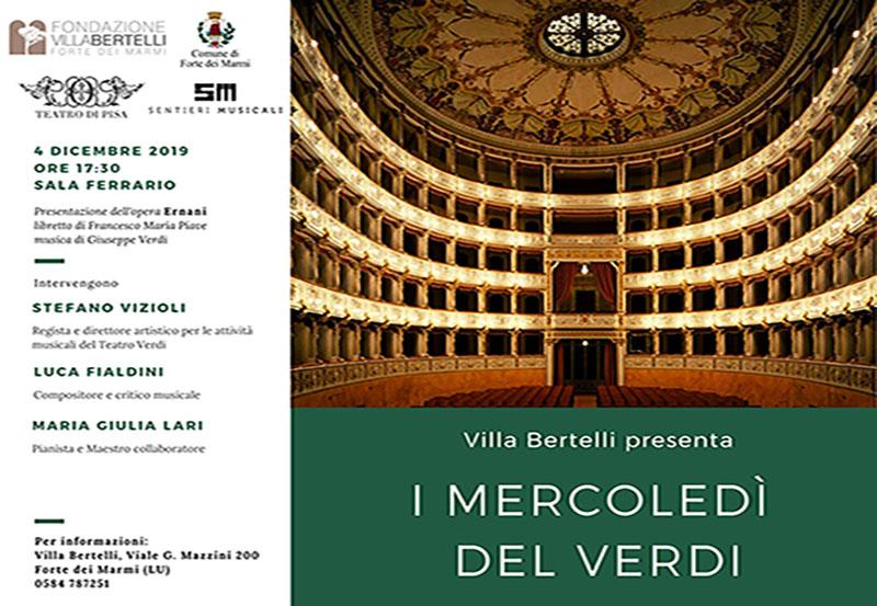 """Rassegna """"I Mercoledì del Verdi"""" – Giuseppe Verdi """"Ernani"""""""