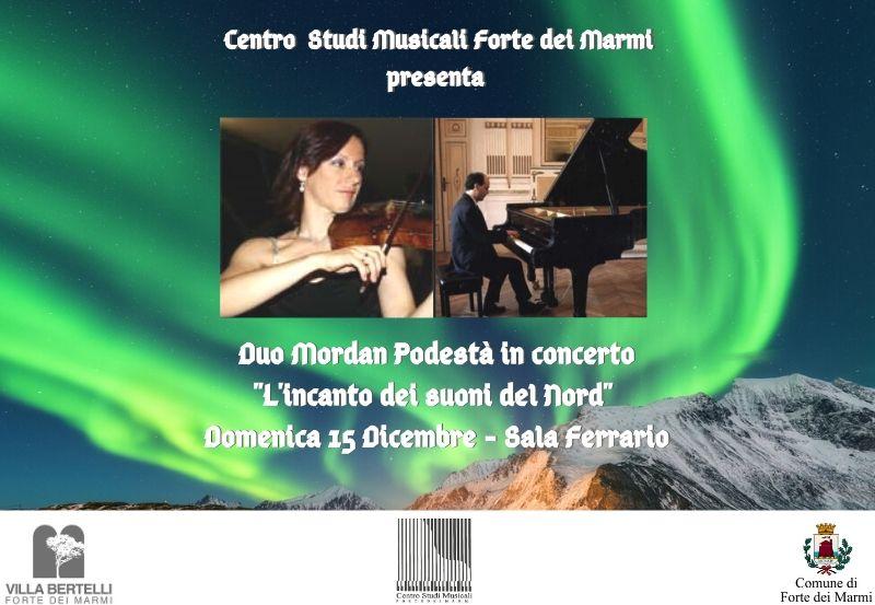 Concerto Centro Studi Musicale Forte dei Marmi, Duo Mordan-Podestà