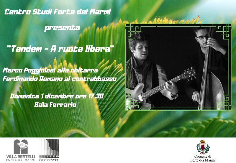 Concerto Centro Studi Musicali Forte dei Marmi, Duo Poggiolesi-Romano