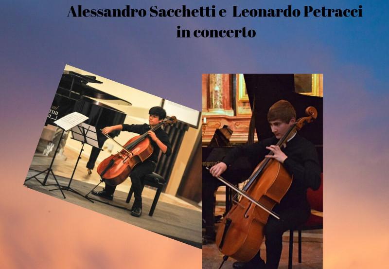 Alessandro Sacchetti e Leonardo Petracci in concerto