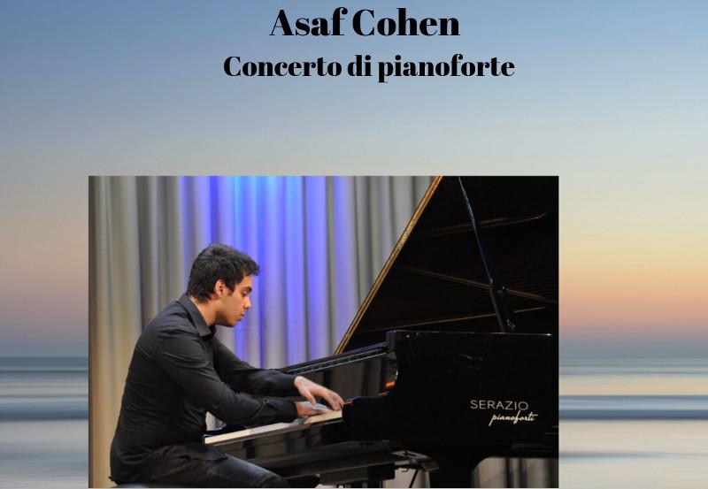 Asaf Cohen – Concerto per Pianoforte