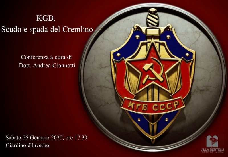 """Andrea Giannotti presenta la conferenza: """"KGB. Scudo e spada del Cremlino"""""""