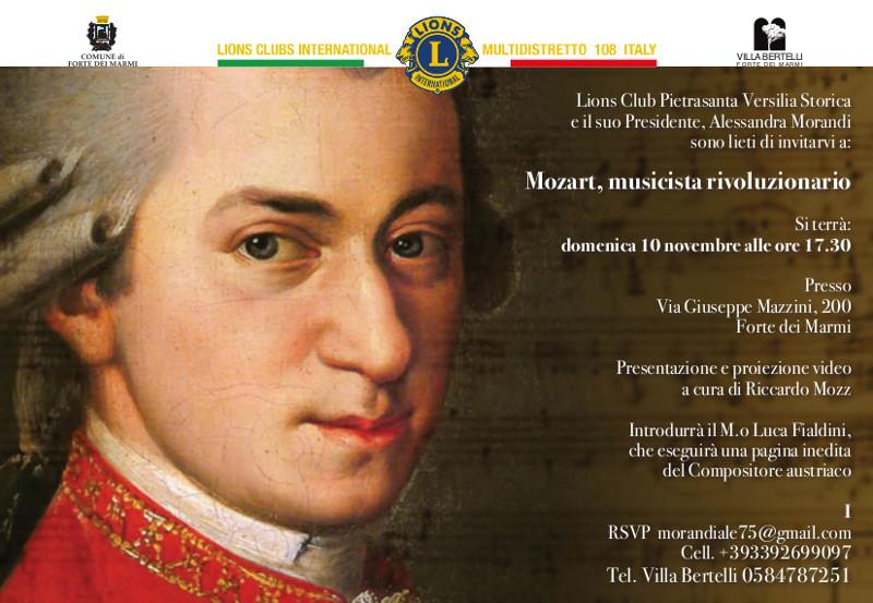 Mozart, musicista rivoluzionario