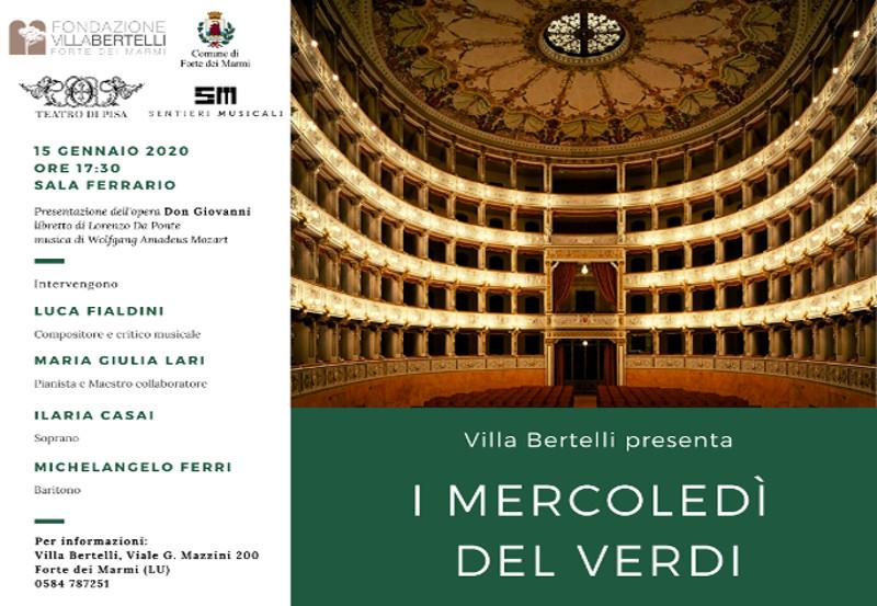 """Rassegna """"I Mercoledì del Verdi"""" – Wolfgang Amadeus Mozart """"Don Giovanni"""""""