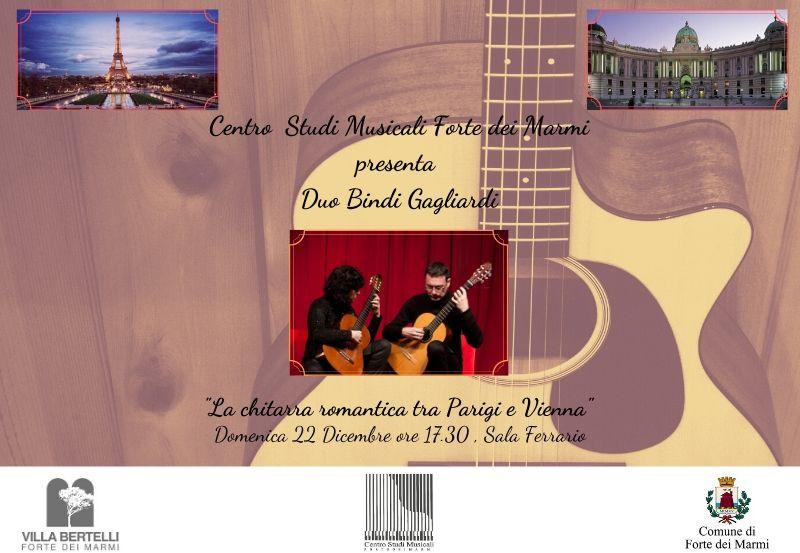 Concerto Centro Studi Musicale Forte dei Marmi, Duo Bindi-Gagliardi