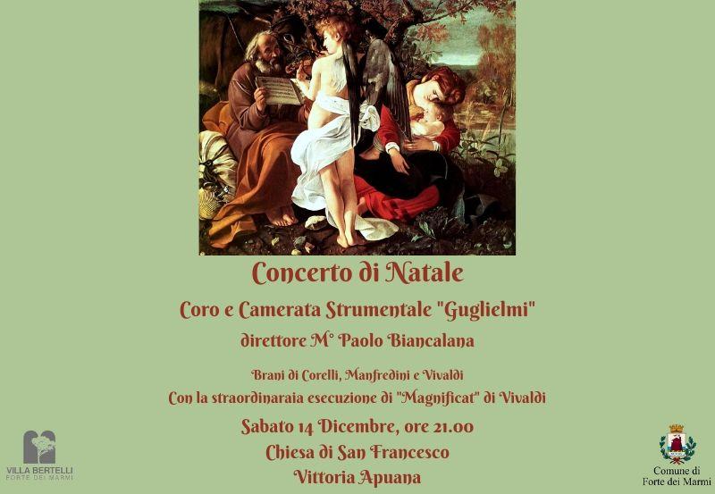 Concerto di Natale Chiesa San Francesco, Vittoria Apuana