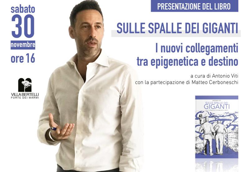 "Antonio Viti presenta ""Sulle spalle dei giganti"""