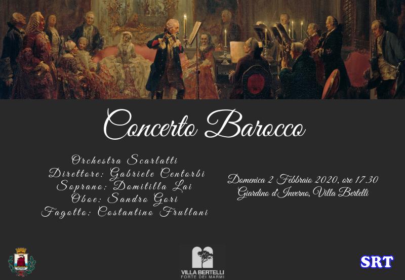 Concerto barocco con Orchestra Scarlatti