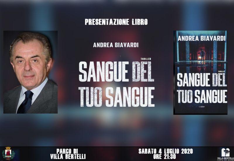 "Andrea Biavardi ""Sangue del tuo sangue"""