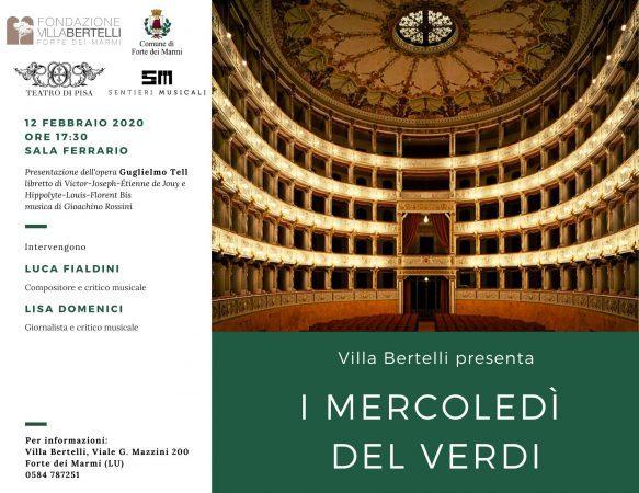 Guglielmo Tell di Gioacchino Rossini a I Mercoledì del Verdi